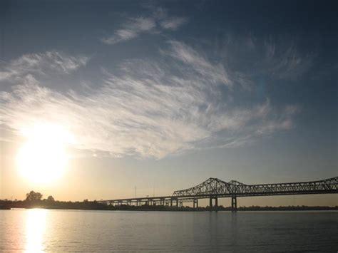 Mississippi River Waterfront, New Orleans, Louisiana